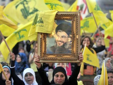 Hisbollah-Anh�nger im Libanon