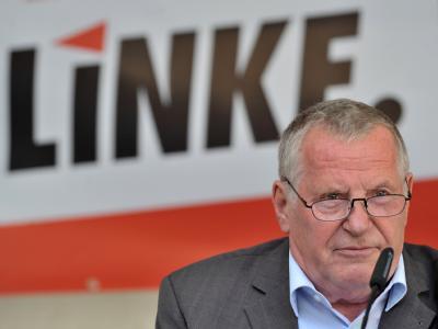Der frühere Linke-Vorsitzende Lothar Bisky empfindet den aktuellen Streit in seiner Partei als «niveaulos». Foto: Hendrik Schmidt / Archiv