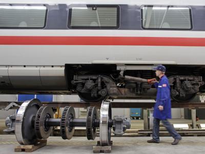 Bahn nimmt Unterflur-Radsatzdrehbank in Betrieb