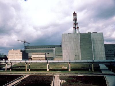 Außenansicht des litauischen Atomkraftwerkes bei Ignalina. (Archivbild)