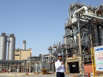 Petrochemie im Iran: Die EU-Staaten bereiten ein Verbot von Öl-Einfuhren aus dem Iran vor. Foto: Abedin Taherkenareh