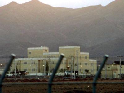 Die alte Atomanlage in Natans im Zentraliran. Im April hatte das Land angekündigt, Zentrifugen in einer neuen Anreicherungsanlage nahe Fordo, 160 Kilometer südlich von Teheran, aufzubauen.