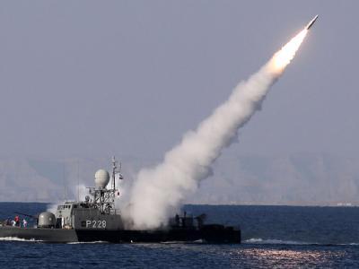 Raketentest des iranischen Militärs