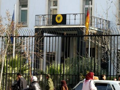 Die deutsche Botschaft in Teheran. (Archivbild)