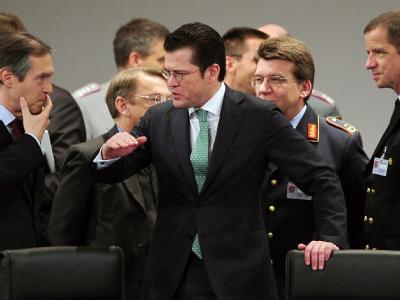 Bundesverteidigungsminister Karl-Theodor zu Guttenberg empfängt die Verteidigungsminister und Generalstabschefs der Truppensteller für Nordafghanistan.