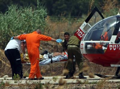 Israel - Feuergefecht an der Grenze