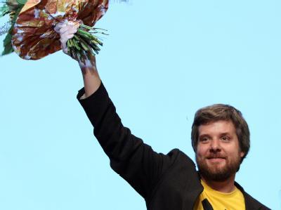 Der bayerische Landesvorsitzende der Grünen, Dieter Janecek, wurde heute wiedergewählt.
