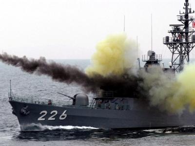 Japanische Marineübung