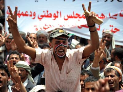 Protest im Jemen