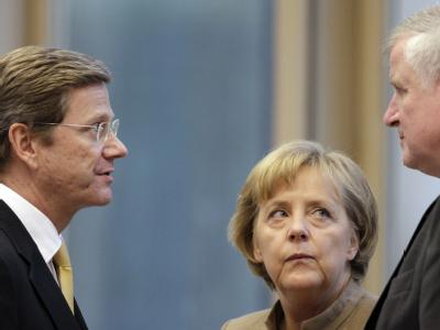 Westerwelle, Merkel, Seehofer