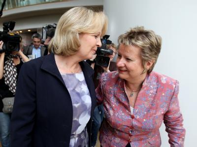 Hannelore Kraft und Sylvia Löhrmann
