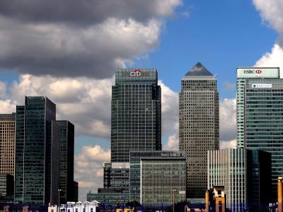 Bankentürme in London
