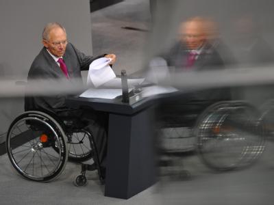 Bundesfinanzminister Wolfgang Schäuble (CDU)