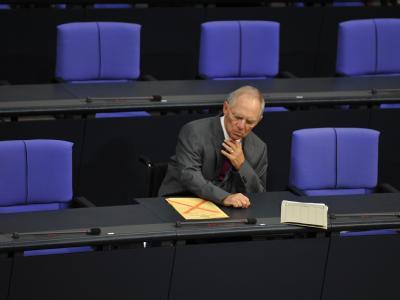 Bundestag - Sch�uble