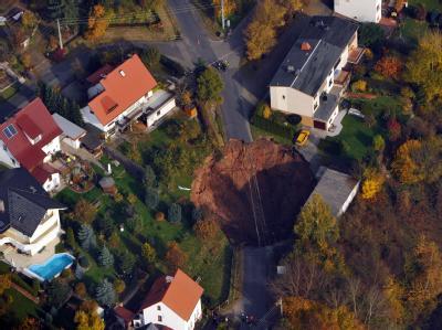 Krater in Th�ringen