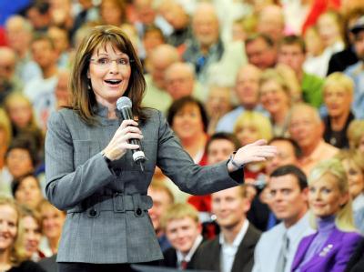 Karriereschritt: Sarah Palin wird Kommentatorin des erzkonservativen TV-Senders Fox News.
