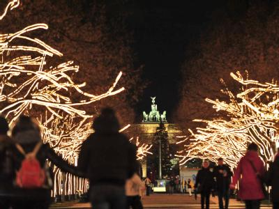 Weihnachtsbeleuchtung in Berlin