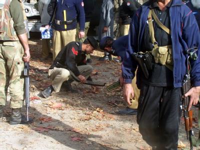 Blutige Normalität: Szene eines Selbstmordanschlags in Pakistan (Symbolbild).