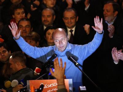 Traian Basescu hat sein Amt verteidigt.