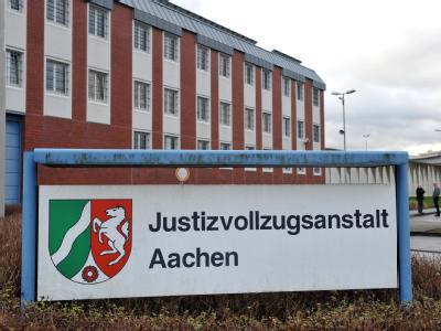 Hauptgebäude der Justizvollzugsanstalt in Aachen.