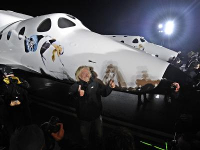 «SpaceShipTwo» enthüllt