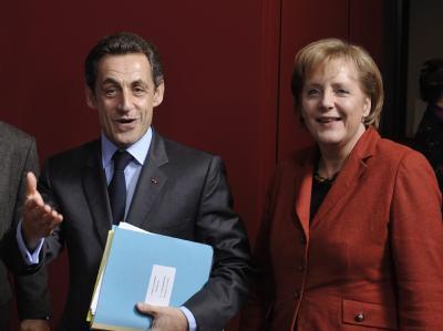 Sarkozy und Merkel