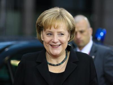 Bundeskanzlerin Angela Merkel: «Wohlstand hat etwas mit Wohlbefinden zu tun.»