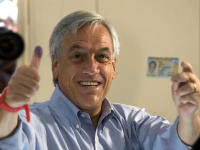 Sebastián Piñera hat die meisten Stimmen auf sich vereinigen können.