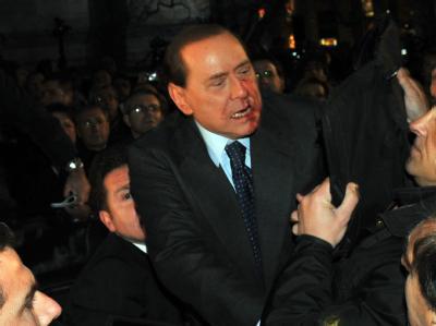 Berlusconi verletzt