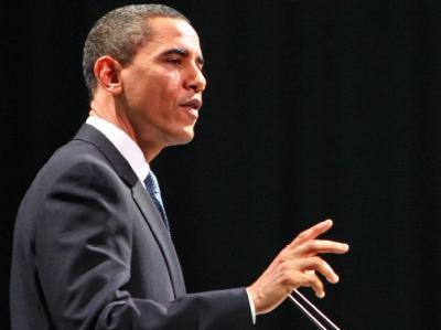 US-Präsident Barack Obama bei seiner Rede vor dem Weltklimagipfel.