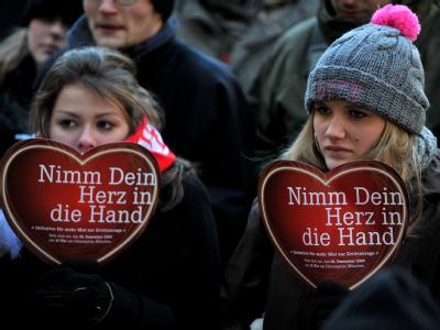 Kundgebung f�r Dominik Brunner