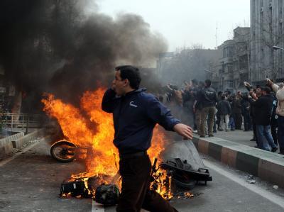 Neue Proteste in Teheran
