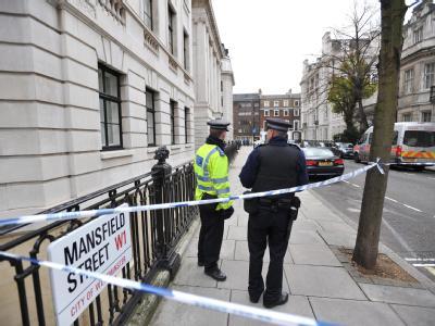 Spurensicherung in London