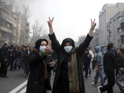 Protest in Teheran