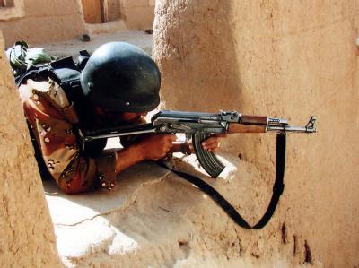Jemenitischer Soldat