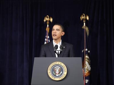 US-Präsident Obama unterstützt die Opposition im Iran.