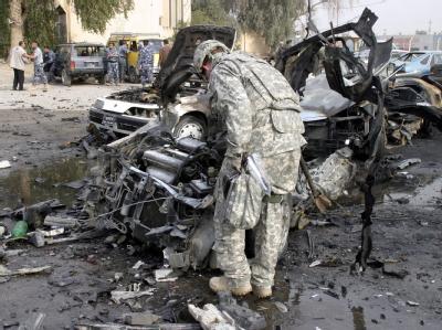Bei einem Doppelanschlag in Ramadi starben 30 Menschen. (Archivbild)