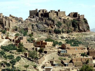 Jemenitisches Bergdorf