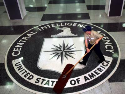 Foyer des CIA-Hauptquartiers in Langley, Washington, USA