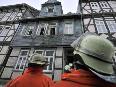 Brand in Goslar