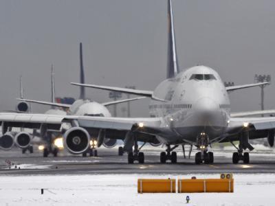 Flugzeuge Frankfurt