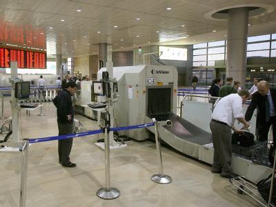 Israels Flughafen Ben Gurion