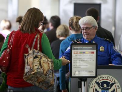 Sicherheitskontrolle auf dem Detroit Metropolitan Airport (Archivfoto vom 26.12.2009).