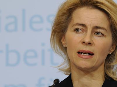 Bundesarbeitsministerin Ursula von der Leyen: Ihre Hartz-IV-Reform ist vom Bundesrat gestoppt worden. (Archivbild)