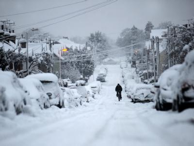 Winter in Großbritannien