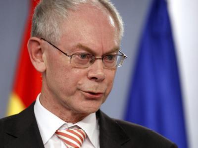 EU-Ratspräsident Herman Van Rompuy: «Wir brauchen mehr wirtschaftliches Wachstum jetzt und in der Zukunft, um die europäische Lebensart zu bewahren.»