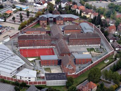 Die Justizvollzugsanstalt in Herford (Foto vom 13.09.2009).