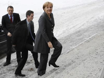 Kanzlerin Merkel kommt zur Festveranstaltung zum Auftakt des internationalen Jahres der biologischen Vielfalt.