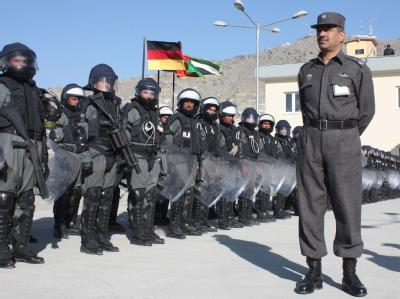 Polizeistation in Kabul