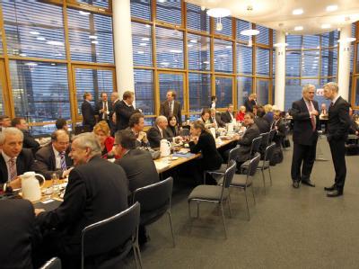 Klausurtagung des CDU-Bundesvorstandes im Konrad-Adenauer-Haus in Berlin.